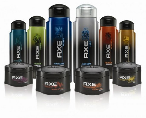 axe product colors