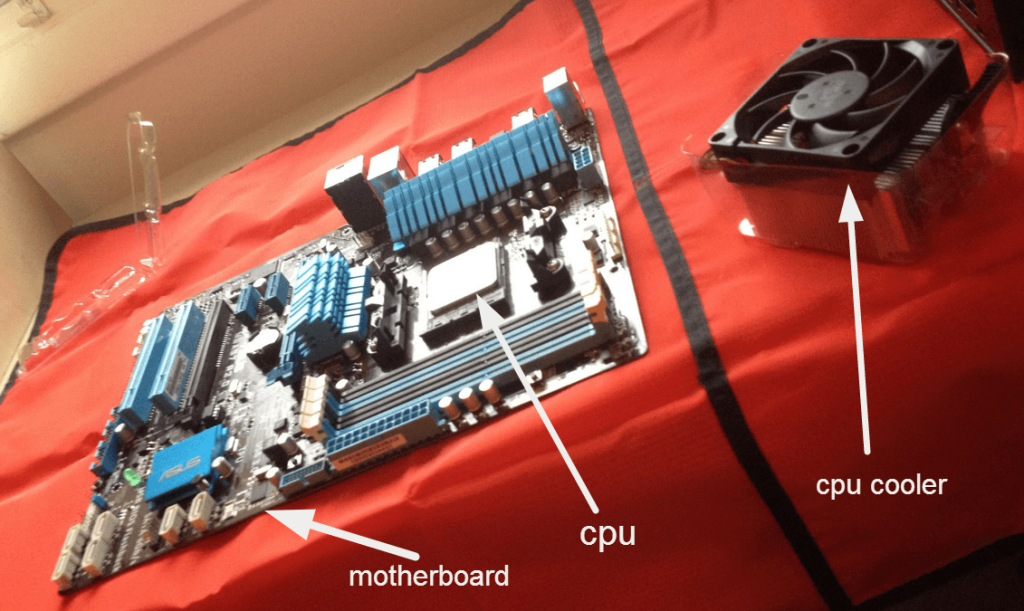 cpu cooler motherboard